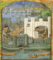 La Tour de Londres au XVesiècle