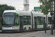 Tramway de Nantes, mod�le r�cent