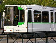 Tramway de Nantes, mod�le ancien