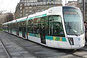 Le nouveau tramway � Paris