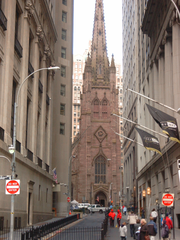 St. Paul's Chapel of Trinity de New York (1766) est l'un des plus anciens b�timents de New York.