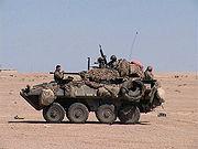 LAV-25 de l'USMC en Iraq, 2004