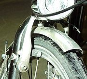 Frein à mors d'une bicyclette