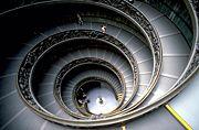 Escalier du mus�e du Vatican