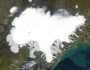 La calotte glaciaire du Vatnajökull en Islande