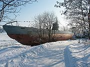 Un sous-marin Finlandais CV-707, renommé par la suite Vesikko, aujourd'hui visible à Suomenlinna.