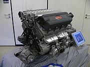 Le moteur W16 de la Bugatti Veyron