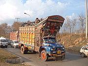 Camion décoré au Pakistan