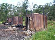 Fours à charbon de bois en Pologne