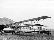 Triplan Voisin bombardier quadrimoteur - 1 seul exemplaire 1915