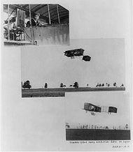 Biplan Voisin pilot� par Harry Houdini ca 1910