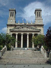 Église Saint-Vincent-de-Paul à Paris