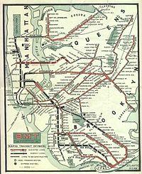 Le réseau en 1924.
