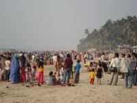 Plage de Bombay en 2006
