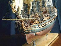 Vaisseau de 74 canons - 1780par Jacques Fichant