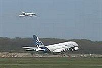 Premier décollage de l'A380