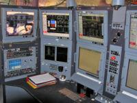 Poste d'ingénieur à bord de l'A380 MSN0001