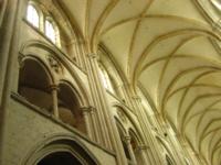 intérieur de l'église abbatiale de Fécamp