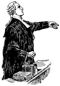 Un barrister britannique