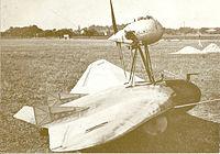 Aile volante de Fauvel en 1933 sur l'Aérodrome de Guyancourt
