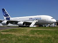 L'A380 au Salon du Bourget