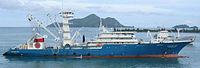 Le Albatun Dod, thonier senneur congélateur aux Seychelles