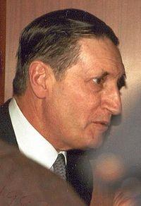 Albert Ducrocq en 1987.