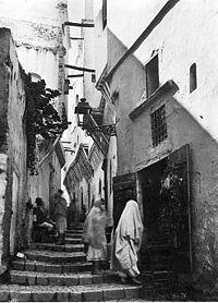 La Casbah d'Alger vers 1900