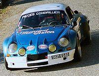Alpine A110 1800 Groupe IV