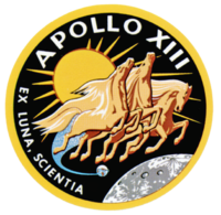 Insigne de la mission Apollo 13