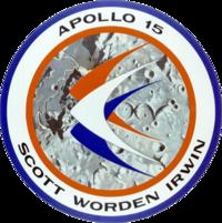 Insigne de la mission Apollo 15