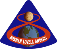 Insigne de la mission Apollo 8