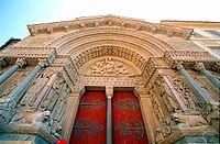 Façade de St Trophime d'Arles, Arles