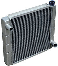 Radiateur moderne, en aluminium