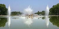 Bassin du Char d'Apollon à Versailles
