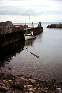La Baie de Fundy à marée haute