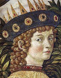 Laurent le Magnifique adolescent (Benozzo Gozzoli, Cappella dei Magi)