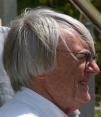 Ecclestone lors du GP de Bahrein 2006.