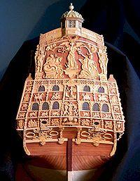 Tableau arrière du Sovereign of the Seas par Bill Short - Canada