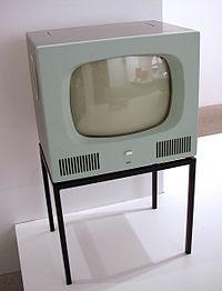 Un téléviseur de 1958
