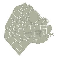 Découpage administratif de Buenos Aires