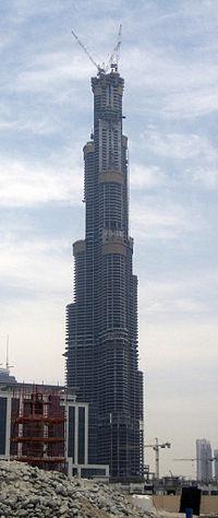 La Burj Dubaï le 20 mai 2007
