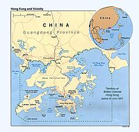 Localisation de Hong Kong