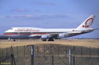 Le CN-RGA est l'unique Boeing 747 de Royal Air Maroc.