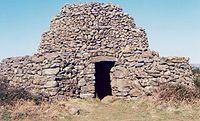 Cabane en pierre sèche, Hérault, France