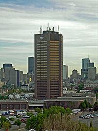 L'édifice de Radio-Canada