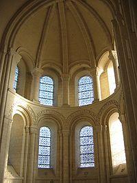 Chœur de l'abbatiale Saint-Georges-de-Boscherville, Seine-Maritime