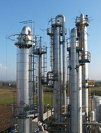 Colonnes de distillation industrielles