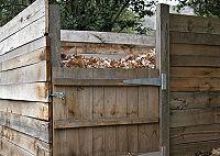 Poubelle à compost