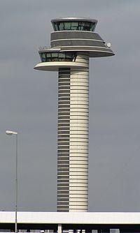 La tour de contrôle d'Arlanda